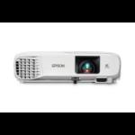 Epson PowerLite W39 data projector 3500 ANSI lumens 3LCD WXGA (1280x800) Desktop projector White