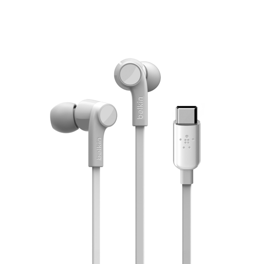 Belkin ROCKSTAR Headphones In-ear White