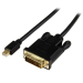StarTech.com 3 ft Mini DisplayPort to DVI Active Adapter Converter Cable – mDP to DVI 2560x1600 – Black