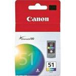 Canon CL-51 Original Cyan,Magenta,Yellow 1 pc(s)