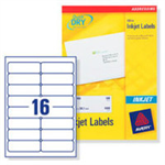Avery J8162-100 addressing label White Self-adhesive label