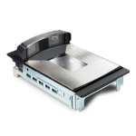 Datalogic Magellan 9800i Built-in bar code reader 1D/2D Linear Black, Grey
