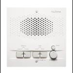 NuTone NRS200WH White audio intercom system