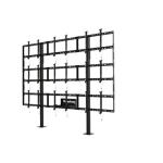 "Peerless DS-S555-3X3 55"" Fixed Black flat panel floorstand"