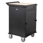 Tripp Lite CSCSTORAGE1 portable device management cart/cabinet Black