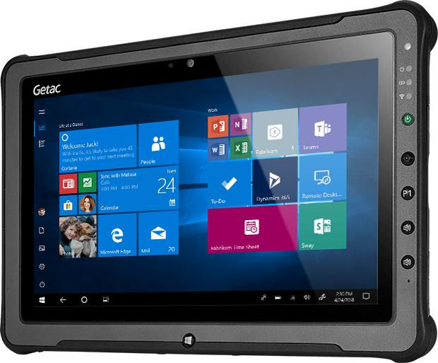 """Getac F110 4G 256 GB 29.5 cm (11.6"""") 7th gen Intel® Core™ i5 16 GB Wi-Fi 5 (802.11ac) Windows 10 Pro Black"""