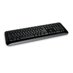 Microsoft 850 RF Wireless QWERTY UK English Black keyboard