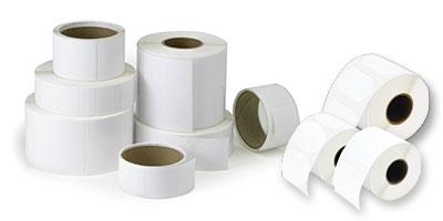 DTM Print 074803HIS self-adhesive label Rectangle Permanent White 1250 pc(s)