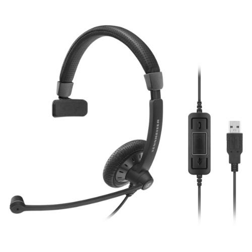 Sennheiser SC 40 USB CTRL BLACK Monaural Head-band