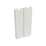 Cables Direct AV-MODQBLANK wall plate/switch cover White