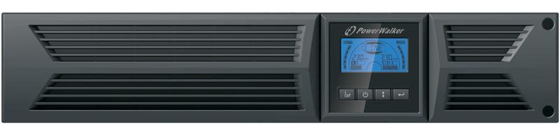 PowerWalker VFI 1000RT LCD/UK 1 kVA 900 W 8 AC outlet(s)