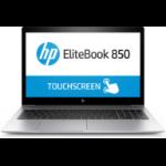 "HP EliteBook 850 G5 Silver Notebook 39.6 cm (15.6"") 1920 x 1080 pixels Touchscreen 8th gen Intel® Core™ i7 16 GB DDR4-SDRAM 512 GB SSD 3G 4G Windows 10 Pro"
