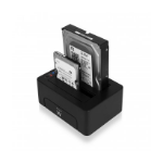 Ewent EW7014 Zwart HDD/SSD-dockingstation