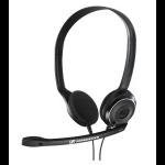 Sennheiser PC 8 USB USB Binaural Head-band Black headset