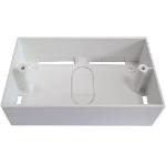 Cablenet Double Gang PVC Back Box 32mm