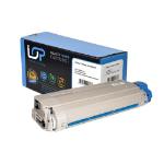 Click, Save & Print Remanufactured Oki 43324423 Cyan Toner Cartridge