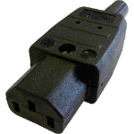 Cablenet C13 10Amp Power Connector (Screw)
