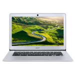 Acer Chromebook Intel Celeron Quad Core Processor N3160,14 FHD Acer ComfyView LCD,Sparkly Silver 14 Al An