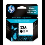 HP 336 Origineel Zwart 1 stuk(s) Normaal rendement