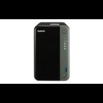 QNAP TS-253D NAS Tower Ethernet LAN Black J4125 TS-253D-4G/12TB-N300