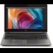 "HP ZBook 15 G6 Mobile workstation 39.6 cm (15.6"") 3840 x 2160 pixels 9th gen Intel® Core™ i9 32 GB DDR4-SDRAM 1000 GB SSD NVIDIA Quadro RTX 3000 Wi-Fi 6 (802.11ax) Windows 10 Pro Silver"