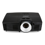 Acer Essential P1387W Desktop projector 4500ANSI lumens DLP WXGA (1280x800) 3D Black data projector