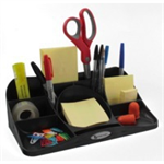 Rexel Agenda2 Desk Tidy Charcoal desk tray