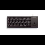 CHERRY G84-5400 TRACKBALL KEYBOARD Corded, USB, Black, (QWERTY - UK)