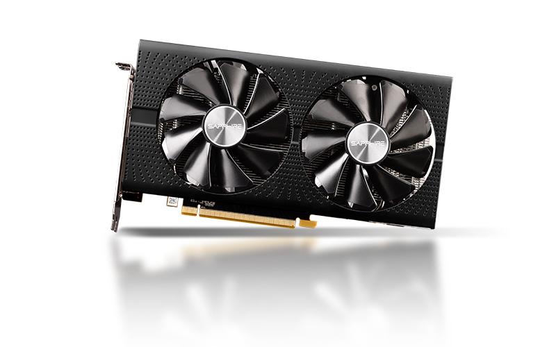 Video Card Radeon Rx 570 8g Gddr5 Dual Hdmi / Dual Dp Oc W/bp