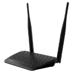 Edimax BR-6428nS V4 wireless router Single-band (2.4 GHz) Fast Ethernet Black