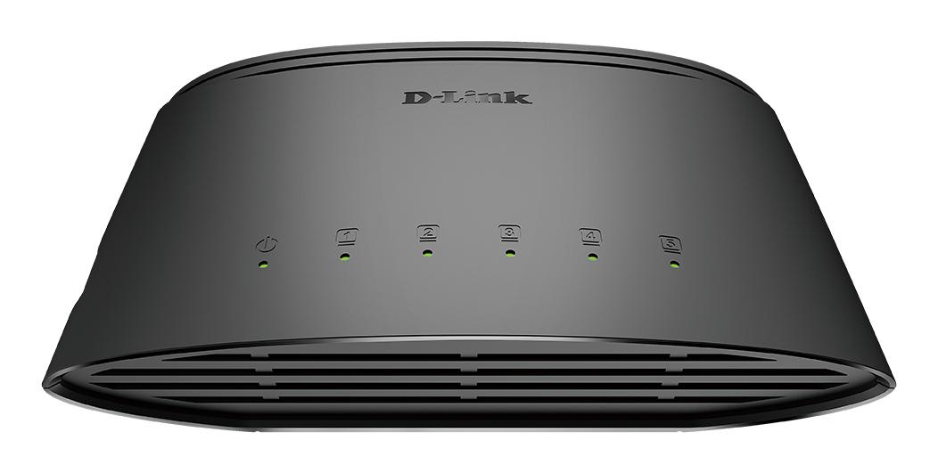 D-Link DGS-1005D/E switch No administrado L2 Gigabit Ethernet (10/100/1000) Negro