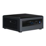Intel NUC BXNUC10I7FNH3 PC/workstation barebone i7-10710U 1.1 GHz UCFF Black BGA 1528