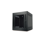 APC NetShelter WX Wall-Mount Enclosure 13U Glass Door Black Freestanding Black rack