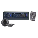 Pyle PLMRKT12BK car media receiver