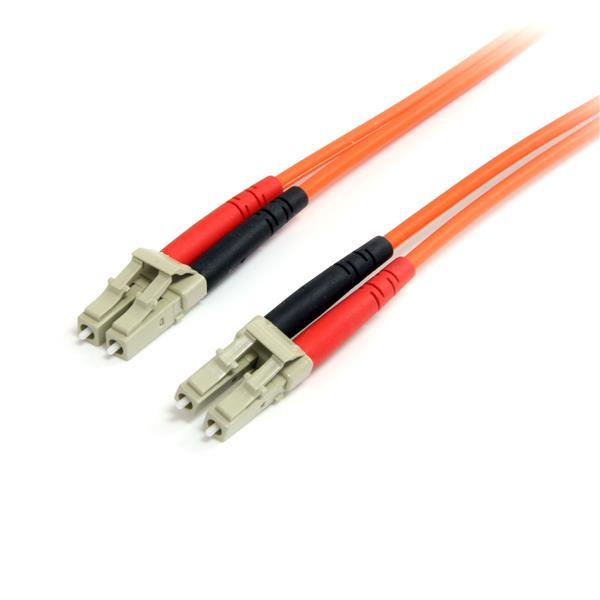 StarTech.com 15m Multimode 62.5/125 Duplex Fiber Patch Cable LC - LC
