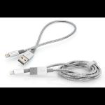 Verbatim 48873 lightning cable 1 m Stainless steel
