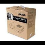 Akasa Crypto Vesa Black computer case