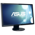"ASUS VE247H 23.6"" Full HD Black computer monitor"