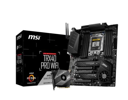 MSI TRX40 PRO WIFI motherboard TRX4 ATX AMD TRX40