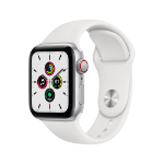 Apple Watch SE OLED 40 mm Silver 4G GPS (satellite)