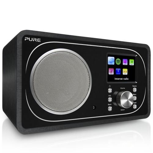 Pure Evoke F3 radio Internet Analog & digital Black
