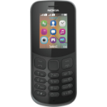 "Nokia 130 4.57 cm (1.8"") Black Feature phone"