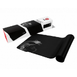 MSI AGILITY GD70 Pro Gaming Mousepad '900mm x 400mm, Pro Gamer Silk Surface, Iconic Dragon Design, Anti-slip and shock-absorbing rubber base, Reinforced stitched edges'