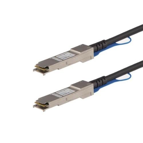 StarTech.com MSA Compliant QSFP+ Direct-Attach Twinax Cable - 1 m (3.3 ft)