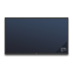 "NEC MultiSync V801-TM 2.03 m (80"") LED Full HD Touchscreen Digital signage flat panel Black"