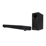 Creative Labs Sound BlasterX Katana Wired & Wireless 2.1 75W Black soundbar speaker