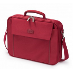 Dicota 17.3-Inch Laptop Multi Base Carrying Case - Red (D30917)