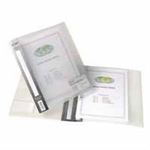 Snopake 10183 ring binder A4 Transparent