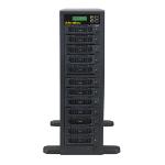 Aleratec 350141 media duplicator HDD/SSD duplicator 11 copies Black