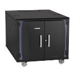 Black Box QCE12U rack cabinet 12U Freestanding rack
